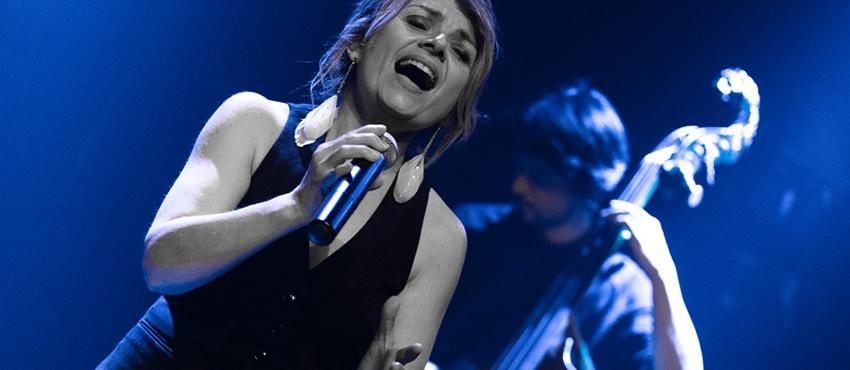 """<a href=""""http://www.marielle-dechaume.com/titre-3/"""">Jazz</a><span>«Le jazz est le meilleur moyen que j'ai trouvé pour faire de ma vie la plus belle des improvisations…»</span>"""